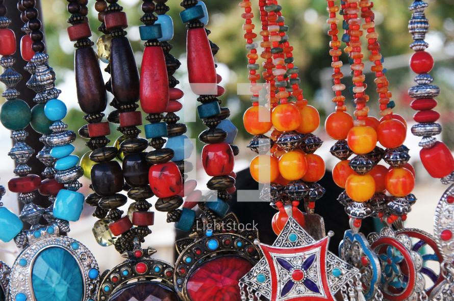 Unusual looking necklaces