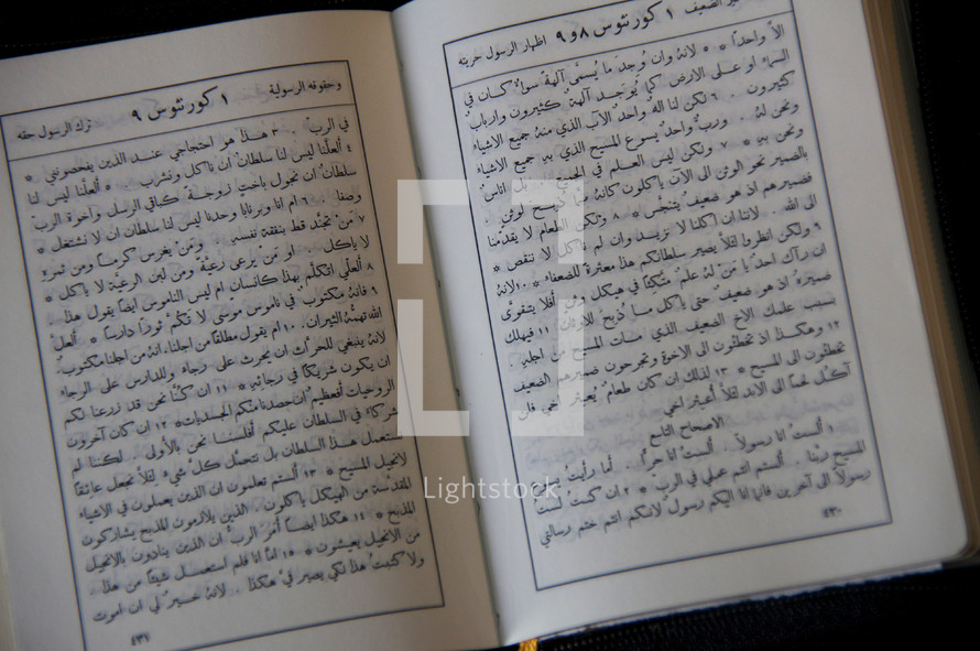 Arabic Bible. Middle East, missions.