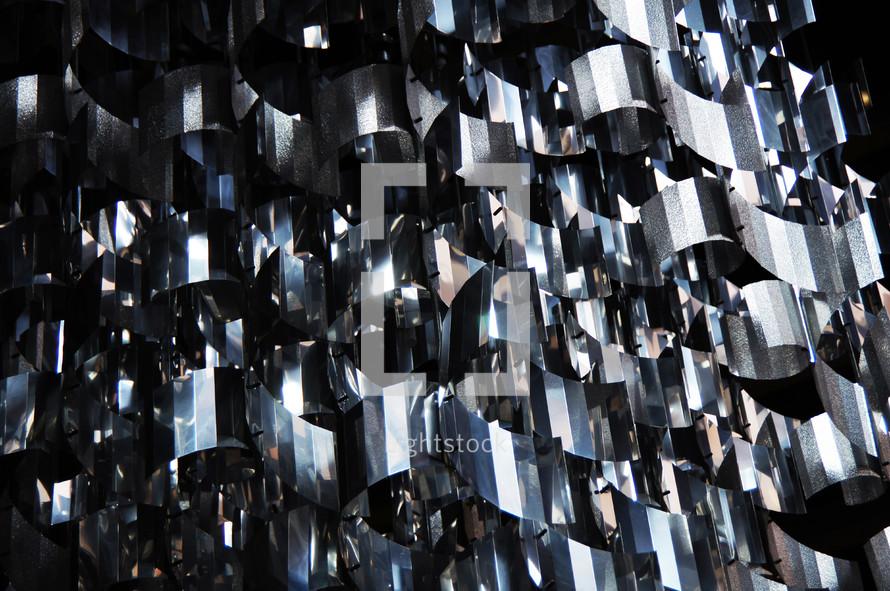 stainless steel metal texture