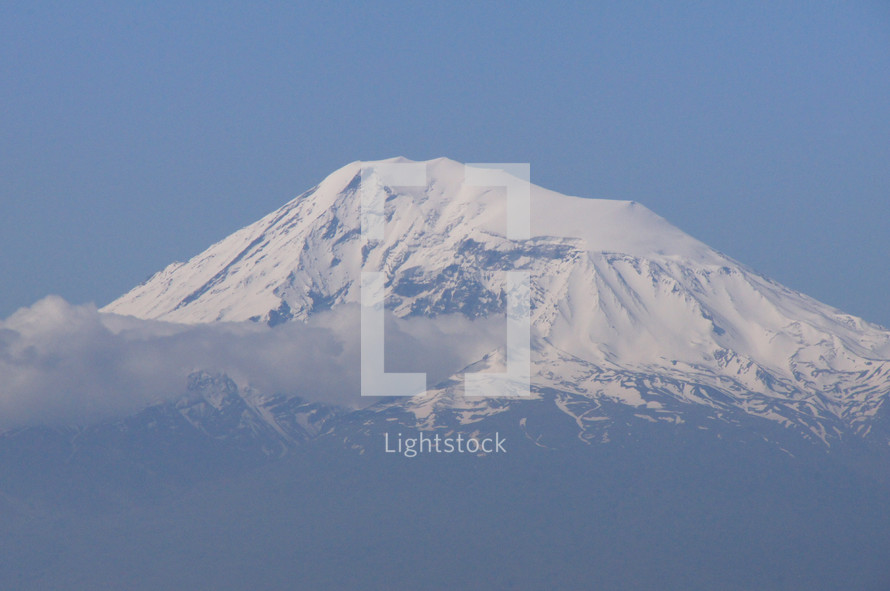 Mt. Ararat, border of Armenia & Turkey