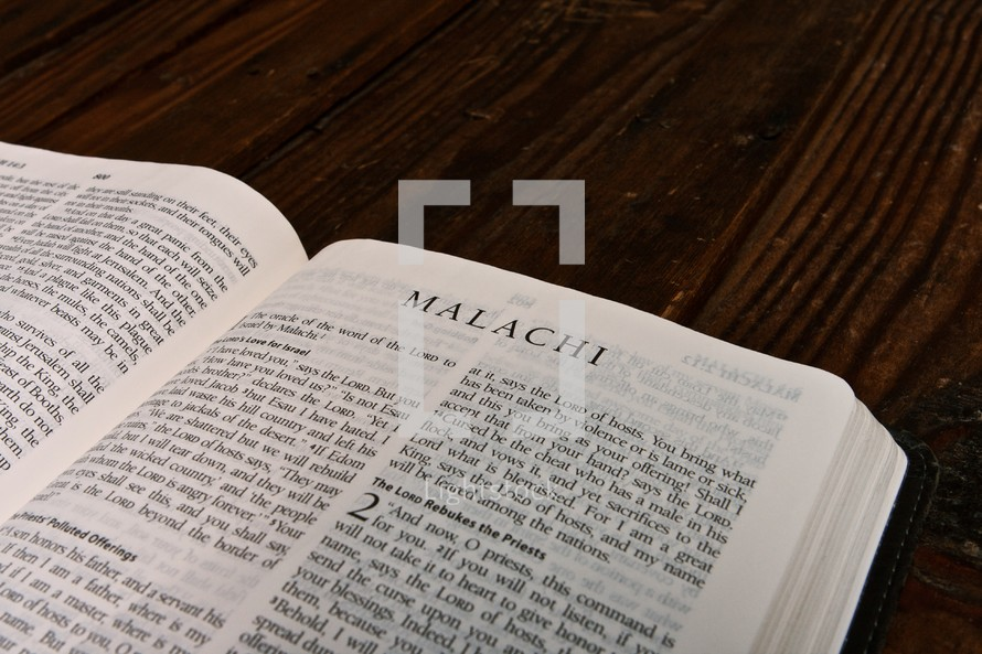 Scripture Titles - Malachi