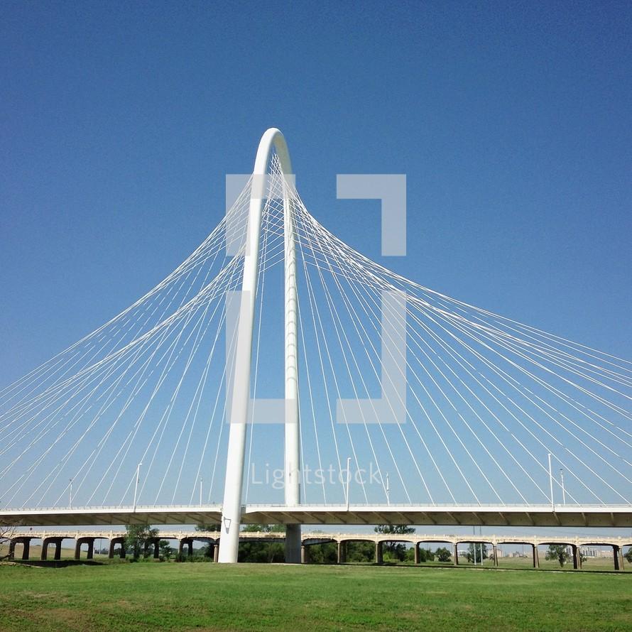 Margaret Hunt Hill Bridge Dallas, TX