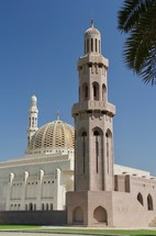 mosque and tower