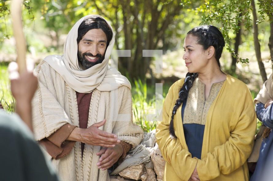 Jesus Talks About Bread