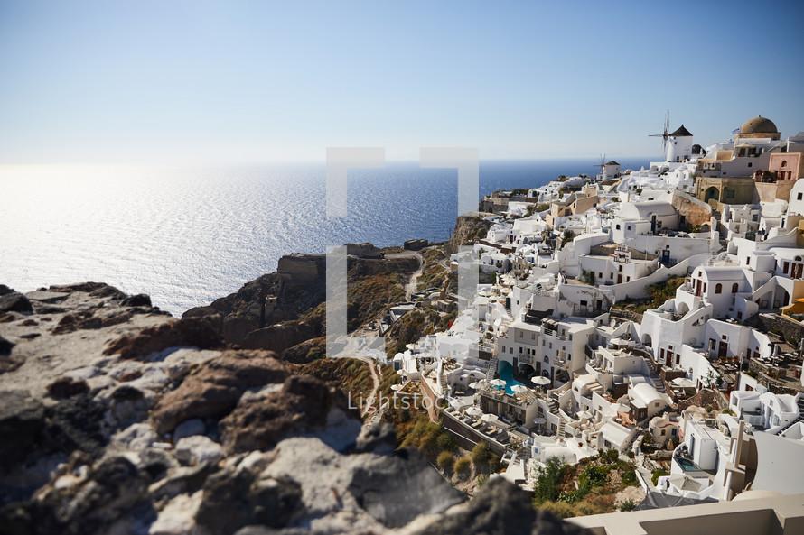 Greek shoreline