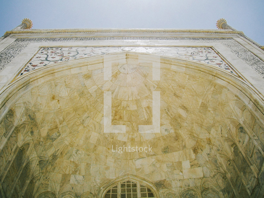 ornate archway