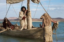 Personal Testimony Of Writer - Jesus on a boat