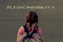 responsibility, children, child, student, youth, school