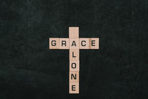 cross, grace and alone