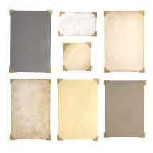 Vintage Antique Photograph Borders with Space to Add Your Own Image or Text