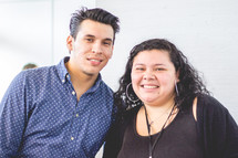 portrait of a Latino couple