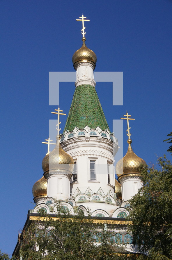 The Russian-orthodox St. Nicholas Cathedral