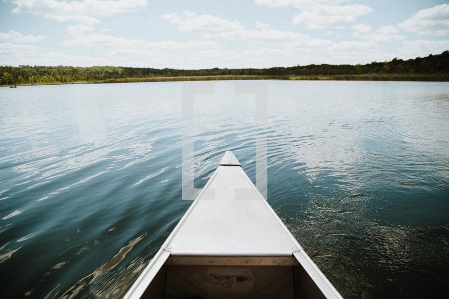 boat on a pond