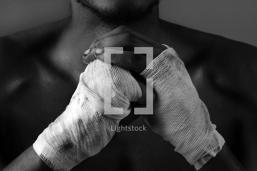 boxers hands