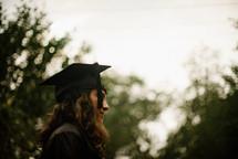 a female graduate