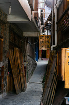 alleyway in China