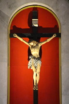 Crucifix of Christ on the cross