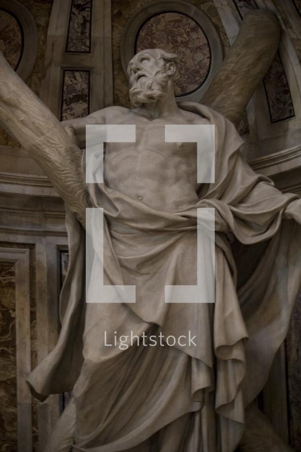 statue symbolizing persecution