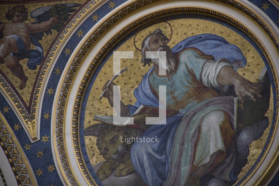 dome top paintings