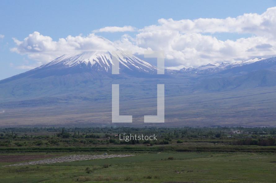 Snow capped Mt. Ararat