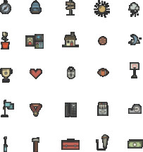 tools and items icons