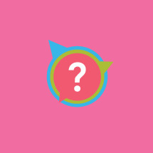 colorful questions icon.