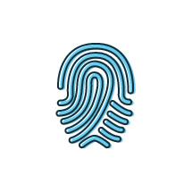 fingerprint illustration.