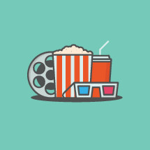 theater snacks icon