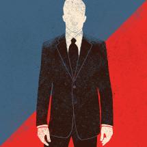 Politician illustration.