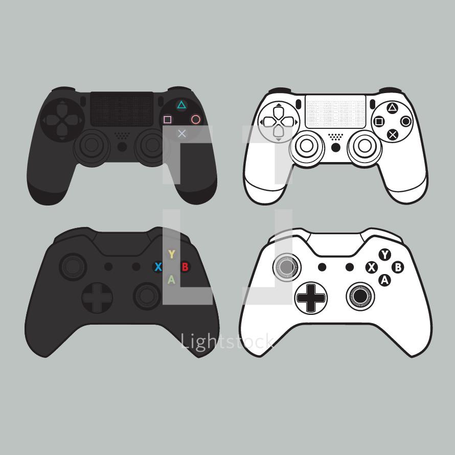 video game remote controls