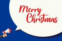 Merry Christmas announcement