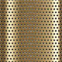 brass punched metal background