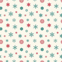 holiday snowflake pattern.