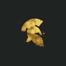 gold helmet icon