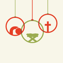 Christmas ornaments icon