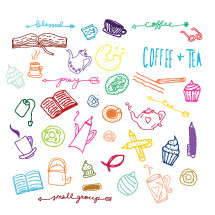 Bible study and small group icon set
