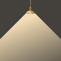 radiating pendant lamp