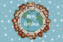 global Merry Christmas