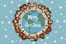 global Merry Christmas