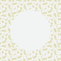 Christmas gold pattern border