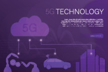 words 5G technology