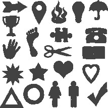 scribble signs and symbols