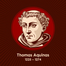 Thomas Aquinas (1225-1274) was an Italian Dominican friar, philosopher, Catholic priest, and Doctor of the Church. An immensely influential philosopher, theologian, and jurist in the tradition of scholasticism.