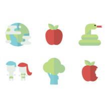 creation icon set