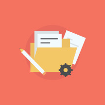 business, pencil, setting, file, documents, paper, icons