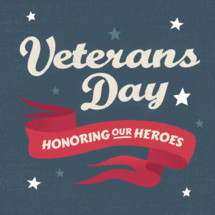 veterans day graphic honoring military solidiers