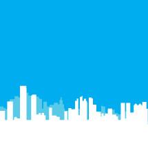 modern cityscape background illustration.