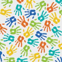handprints pattern