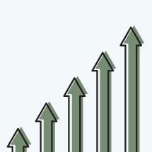 growth arrow concept