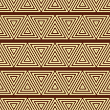 African tribal pattern vector.